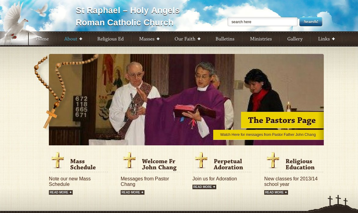 Sample Church Website